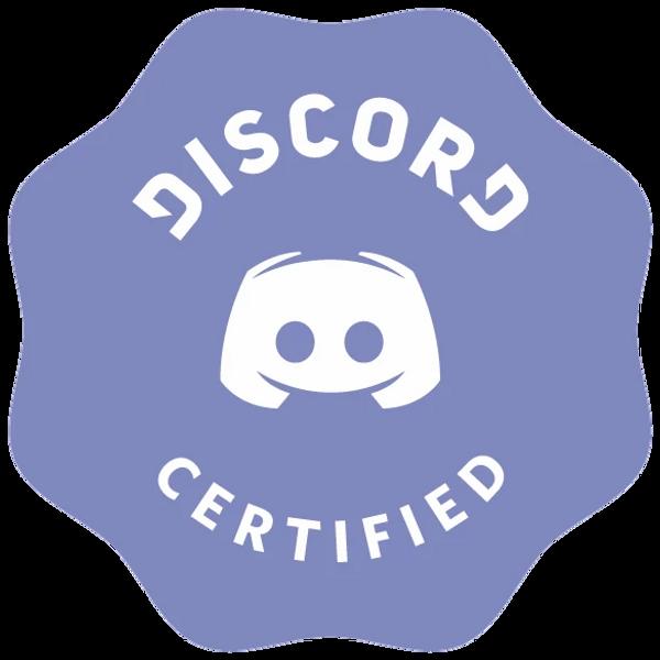 Certificate da DISCORD